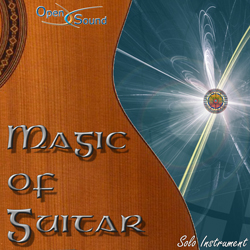 Cd Cover Magic of Guitar