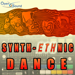 Cd Cover Synth-Ethnic Dance
