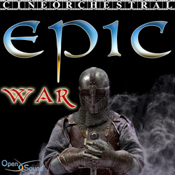 Cd Cover Cineorchestral Epic - War