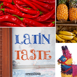Cd Cover Latin Taste